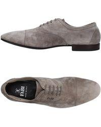 Fabi Zapatos de cordones - Gris