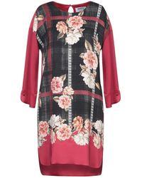 MARTA STUDIO Short Dress - Red