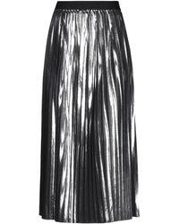 Versace Long Skirt - Metallic