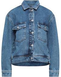 WOOD WOOD Manteau en jean - Bleu