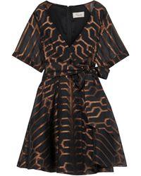 Temperley London Short Dress - Black
