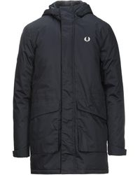 Fred Perry Coat - Black