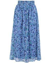 Vero Moda 3/4 Length Skirt - Blue