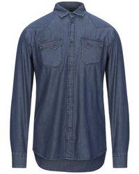 Trussardi Denim Shirt - Blue