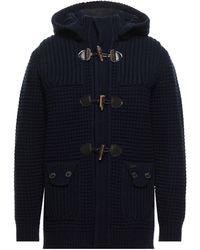 Bark Coat - Blue