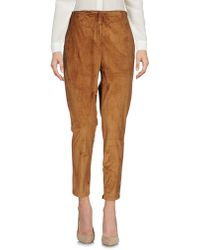 Manila Grace Casual Trousers - Brown