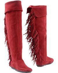 Minnetonka - Boots - Lyst