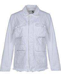 Department 5 Denim Outerwear - White