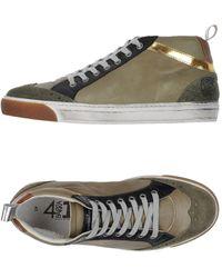 Quattrobarradodici High-tops & Sneakers - Green