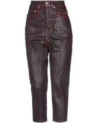 Rick Owens Drkshdw Denim Pants - Multicolor