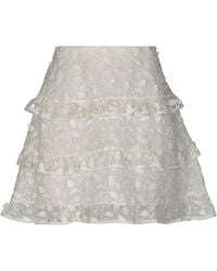 Giamba Mini-jupe - Blanc