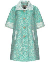 MILLY Overcoat - Green