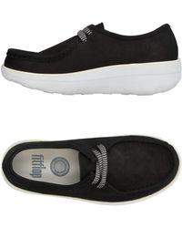 Fitflop Lace-up Shoe - Black