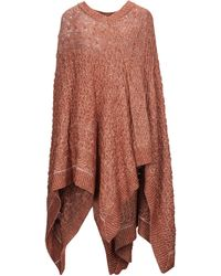 MM6 by Maison Martin Margiela Capes & Ponchos - Brown