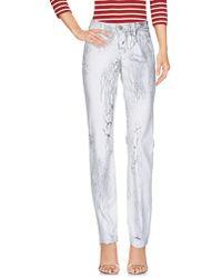 Twin Set Pantaloni jeans - Bianco