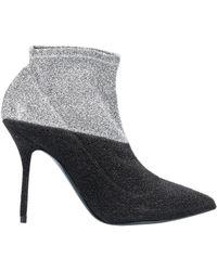 Pierre Hardy Metallic Ankle Boots