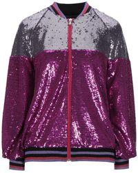 Motel Jacket - Purple