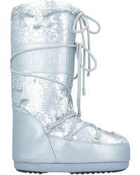 Moon Boot Boots - Metallic