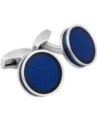 Tateossian Gemelli e Fermacravatte - Blu