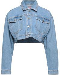 Chiara Ferragni Capospalla jeans - Blu