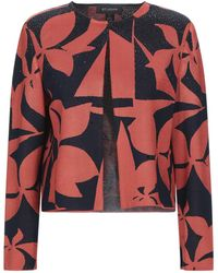 St. John Suit Jacket - Red