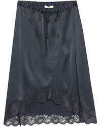 Ragdoll Midi Skirt - Blue