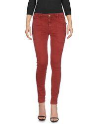 Current/Elliott Pantalon en jean - Rouge