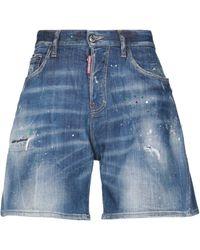 DSquared² Bermuda jeans - Blu