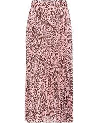 Soallure Long Skirt - Pink