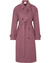 Tibi Coat - Purple