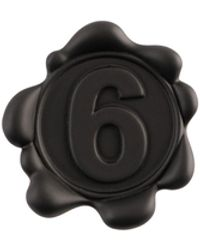 MM6 by Maison Martin Margiela Brooch - Black