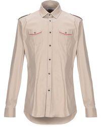 Grey Daniele Alessandrini Shirt - Natural