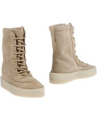 Yeezy Ankle Boots - Natural