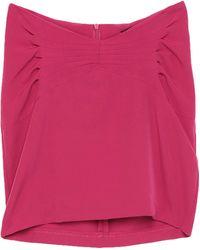 ACTUALEE Mini Skirt - Pink