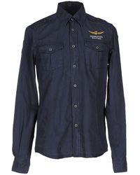 Aeronautica Militare Shirt - Blue