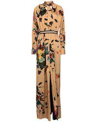 Ballantyne Long Dress - Natural