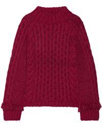 Eleven Six Cuello alto - Rojo