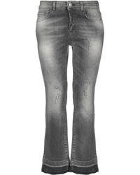 Jijil Denim Pants - Gray
