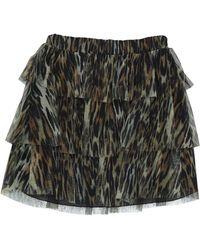 Please Mini Skirt - Green