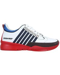 DSquared² Low Sneakers & Tennisschuhe - Weiß