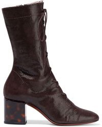 ALEXACHUNG Ankle Boots - Brown