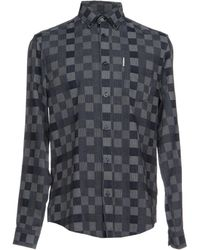 Ben Sherman - Long Sleeve Chequerboard Shirt - Lyst