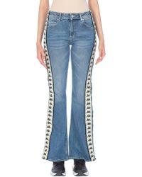 Kappa Denim Trousers - Blue