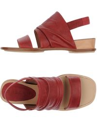 Malloni Sandals - Red