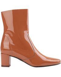 Jonak Ankle Boots - Orange