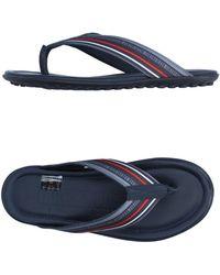 Bikkembergs Toe Strap Sandals - Blue