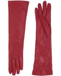 Jil Sander Gloves - Red