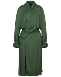 Haider Ackermann Overcoat - Green