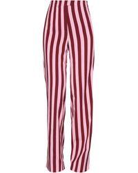 ALEXACHUNG Pantalones - Rosa