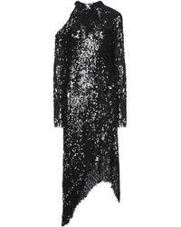 Magda Butrym Midi Dress - Black
